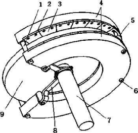 一种永磁盘式制动器及其制动方法
